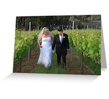 Wedding Bliss  Greeting Card