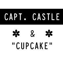 Capt. Castle & Cupcake by Gabrielle Chang
