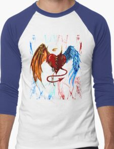 """2 Sided Love"" Men's Baseball ¾ T-Shirt"