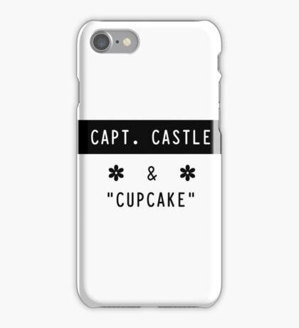 Capt. Castle & Cupcake iPhone Case/Skin