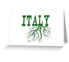 Italy Roots Greeting Card