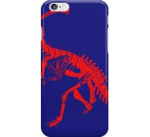 Dino Blue and Red iPhone Case/Skin