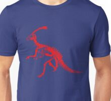 Dino Blue and Red Unisex T-Shirt
