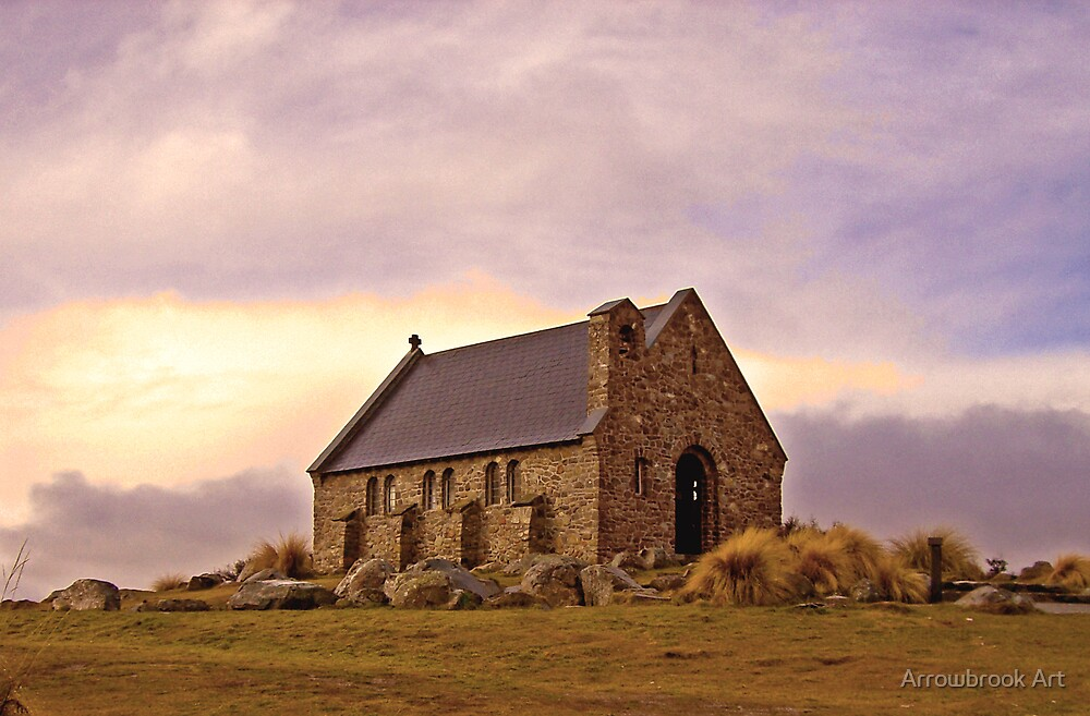 Church of the Good Shepherd, Tekapo, NZ by John Brotheridge
