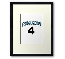 Kuroko no Basket - Rakuzan Akashi Shirt Framed Print
