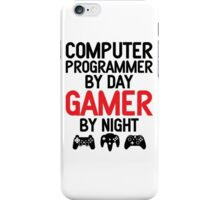 Computer Programmer by Day Gamer by Night iPhone Case/Skin