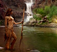 Hualapai Indian by Cliff Vestergaard
