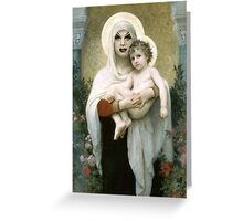 Divine and Child Greeting Card