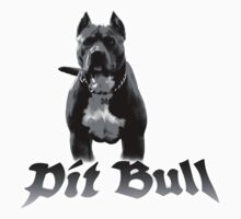 pit bull Kids Clothes