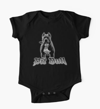 pit bull One Piece - Short Sleeve