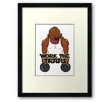 Workout Ackbar Framed Print