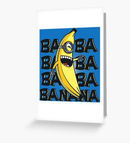 ba ba bananas Greeting Card