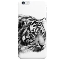 Black and White Tiger iPhone Case/Skin