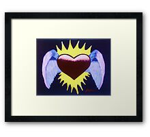 With Love from Angels Framed Print
