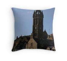 Peebles Parish Church Throw Pillow