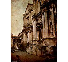 Via Crociferi, Catania Photographic Print
