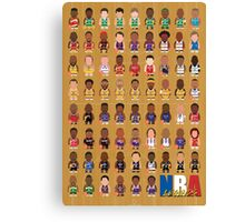 NBA Legends Canvas Print