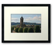 Peebles Parish Church Framed Print