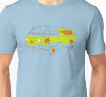 The Scooby Doo Mystery Machine Unisex T-Shirt