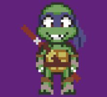 Donnie TMNT 2012 Mini Pixel by geekmythology