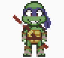 Donnie TMNT 2012 Mini Pixel by geekmythology