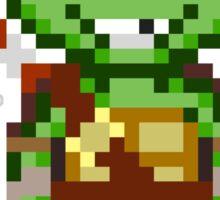 Donnie TMNT 2012 Mini Pixel Sticker