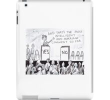 The Gay Marriage Debate iPad Case/Skin