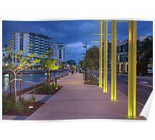 Cornmeal Creek Promenade-5464-HDR Poster