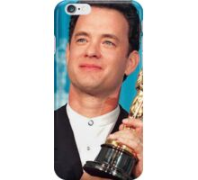Tom Hanks With his Oscar iPhone Case/Skin