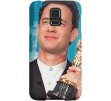 Tom Hanks With his Oscar Samsung Galaxy Case/Skin