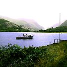 The Lake - Llanberris by Trevor Kersley