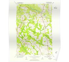 Maine USGS Historical Map New Sweden 460651 1953 24000 Poster