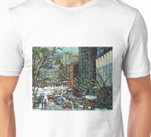 MONTREAL ART MCGILL UNIVERSITY RODDICK GATES Unisex T-Shirt