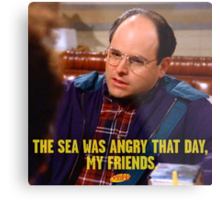 George Costanza Quote Metal Print