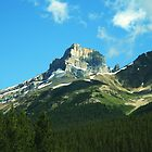 Mount Hector Alberta Rockies by HighHeadArtwork