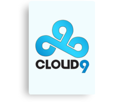 Cloud 9 - Sleek Gloss Canvas Print