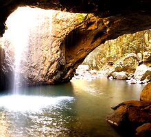 NATURAL ARCH, QUEENSLAND, AUSTRALIA by Eamon Fitzpatrick