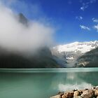 Lake Louise Alberta Rockies by HighHeadArtwork