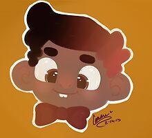 smiley boy by mochajunkdrawer