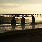 Clemenstport Bridge Nova Scotia by HighHeadArtwork