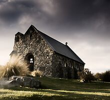 Little church by Mel Brackstone