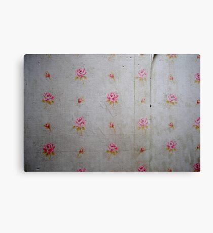 Old Wallpaper Canvas Print