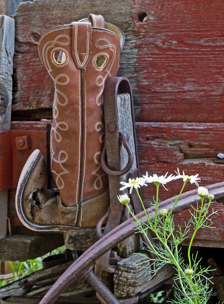 BOOT by Jeanne Frasse