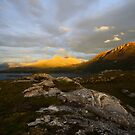 Sunset in the Highlands by Willy Vendeville