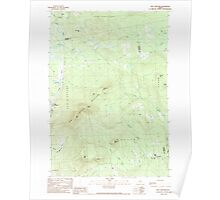 Maine USGS Historical Map New Vineyard 102808 1989 24000 Poster