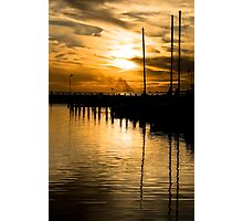 Golden Glory Photographic Print