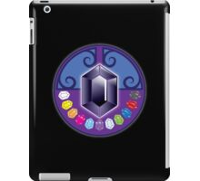 The jewels (solid) Jewels: White, Yellow, Tigers eye, Rose, Summer sky, Purple, opal, emerald, sapphire, red, ebony, and black iPad Case/Skin