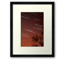 Startrails II Framed Print