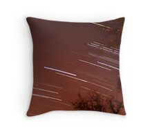 Startrails II Throw Pillow