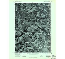 Maine USGS Historical Map New Vineyard 806962 1979 24000 Photographic Print